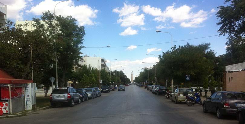 Παραλιακή οδός