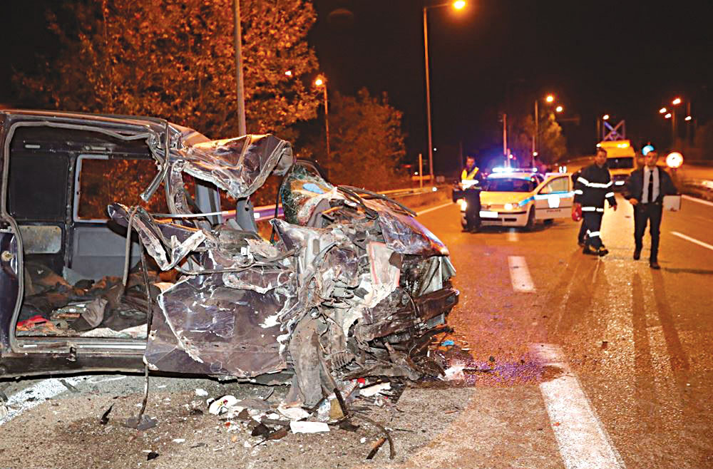 5 θανατηφόρα τροχαία ατυχήματα στην ΑΜΘ τον Δεκέμβριο