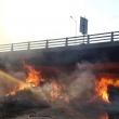 Έκτακτες κυκλοφοριακές ρυθμίσεις λόγω της φωτιάς στην Ιτέα