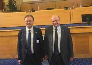 Αντιπρόεδρος στην UEMS ο πρόεδρος του ΙΣ Έβρου Ανδρέας Παπανδρούδης