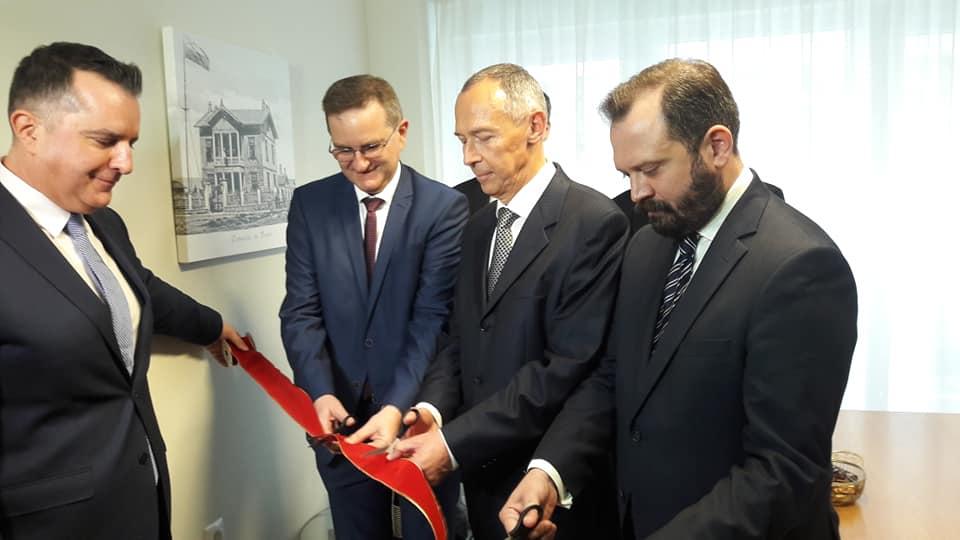 Τελέστηκαν με επισημότητα τα εγκαίνια του γραφείου του Επίτιμου Προξενείου της Ρωσίας στην Αλεξανδρούπολη