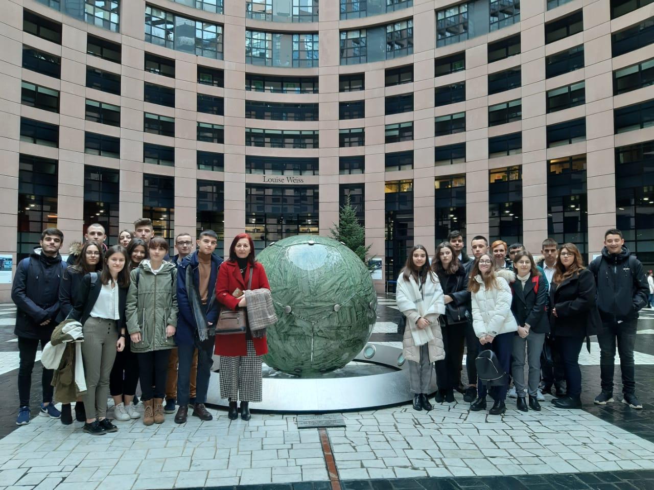 Μαθητές του Γενικού Λυκείου Τυχερού στο Ευρωπαϊκό Κοινοβούλιο