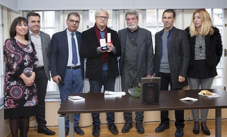 Απονεμήθηκε στον Βασίλη Κάργα το Βραβείο «Μαρκίδες Πούλιου 2019»