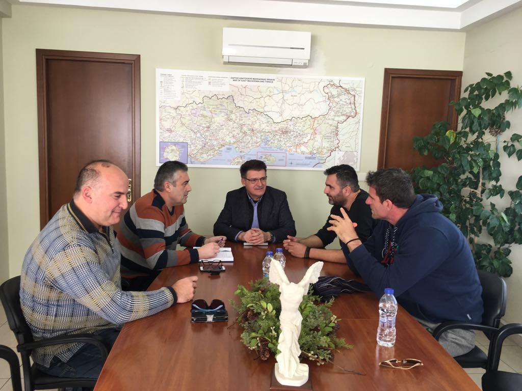 Συνάντηση Αντιπεριφερειάρχη με ΔΣ Ένωσης Συνοριακών Φυλάκων Ν. Έβρου