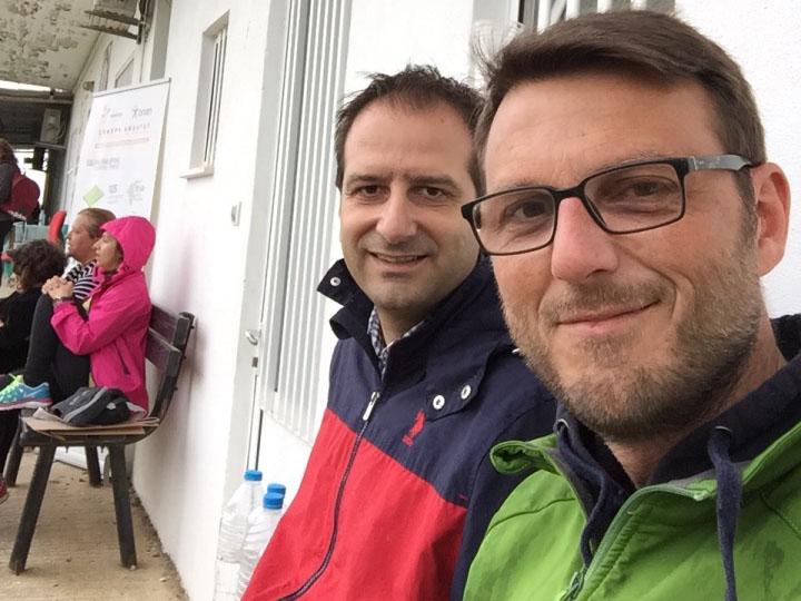 Κουκουράβας αντιδήμαρχος τεχνικών υπηρεσιών και Βαταμίδης αντιδήμαρχος αθλητισμού – οικισμών - καθημερινότητας