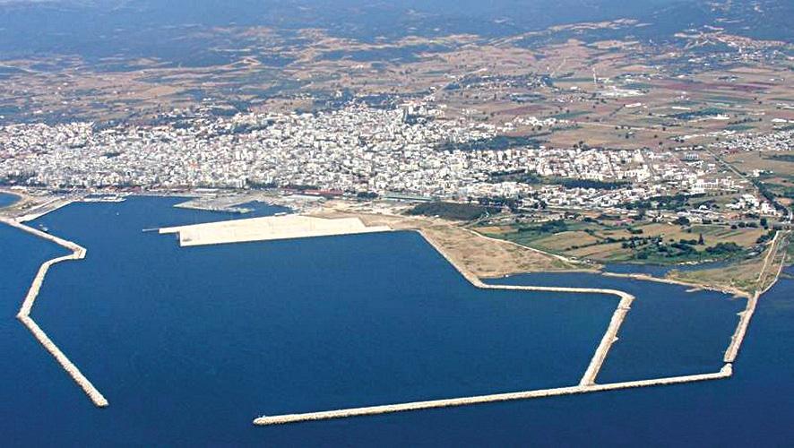 Ο κορωνοϊός δε σταματά την επένδυση στο λιμάνι της Αλεξανδρούπολης