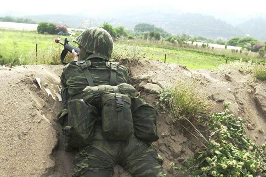 Καταγγελία για έλλειψη μέτρων προστασίας για το προσωπικό των Ενόπλων Δυνάμεων στον Έβρο