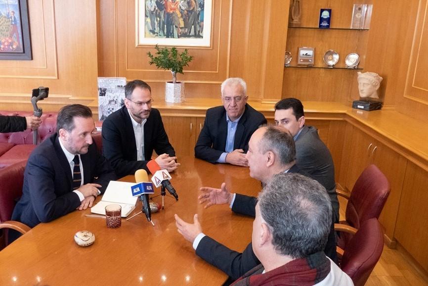Τι έθεσε ο Δήμαρχος Αλεξανδρούπολης Γιάννης Ζαμπούκης στον Υφυπουργό Μακεδονίας -Θράκης
