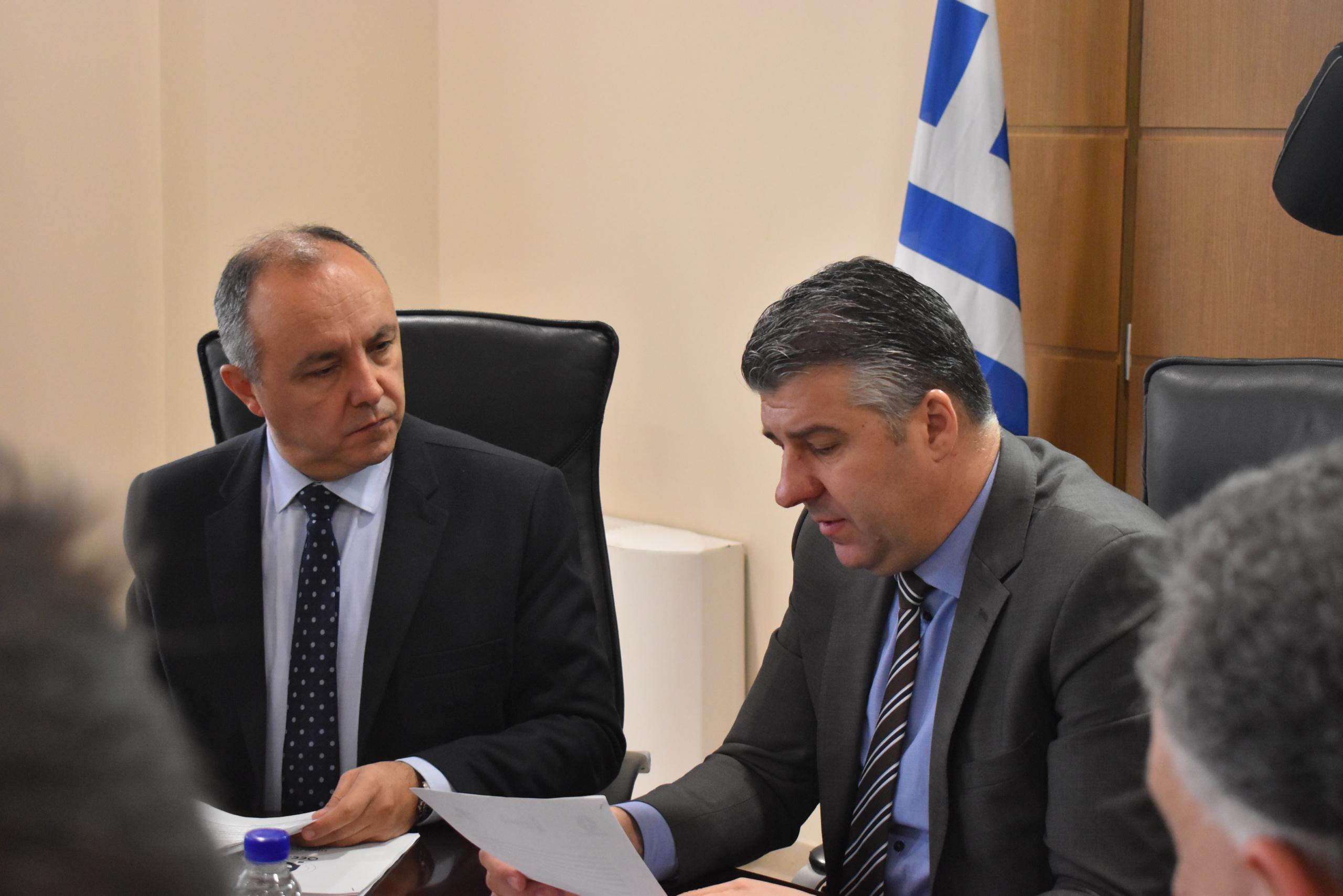 Τα αιτήματα του επιχειρηματικού κόσμου του Έβρου τέθηκαν στον Υπουργό Μακεδονίας Θράκης