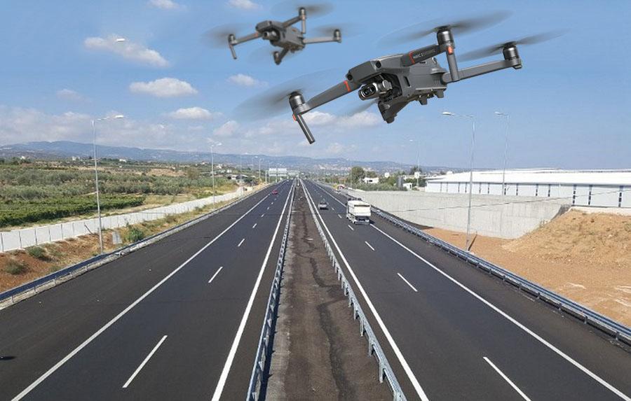 Drones θα εποπτεύουν την Εγνατία Οδό