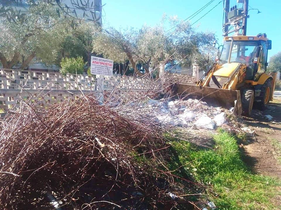 Επιχείρηση καθαριότητας της Μάκρης από τον Δήμο Αλεξανδρούπολης