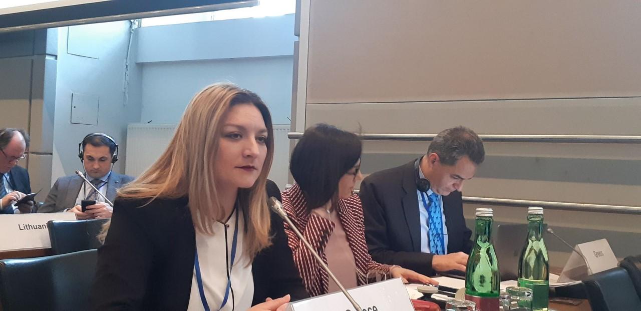 Ν. Γκαρά σε ΟΑΣΕ: «Συνεργασία των κρατών της ΕΕ για διαχείριση προσφυγικού και ισότιμη κατανομή»