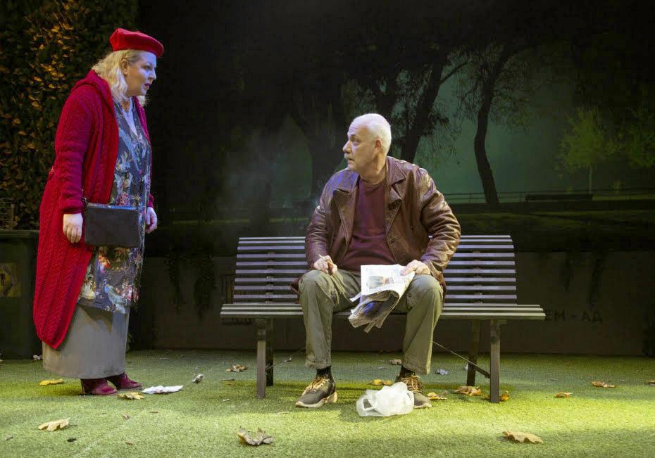 Η θεατρική παράσταση «Το παγκάκι» παρουσιάζεται την Πέμπτη στην Αλεξανδρούπολη