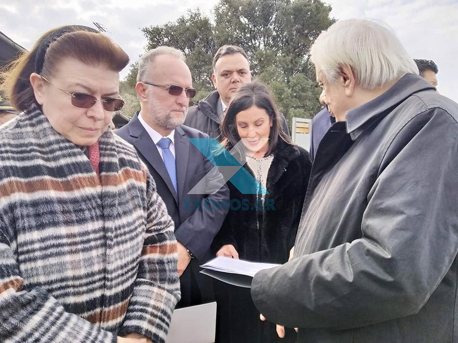 Επίτιμος δημότης Μαρωνείας – Σαπών ο Πρόεδρος της Δημοκρατίας Πρ. Παυλόπουλος