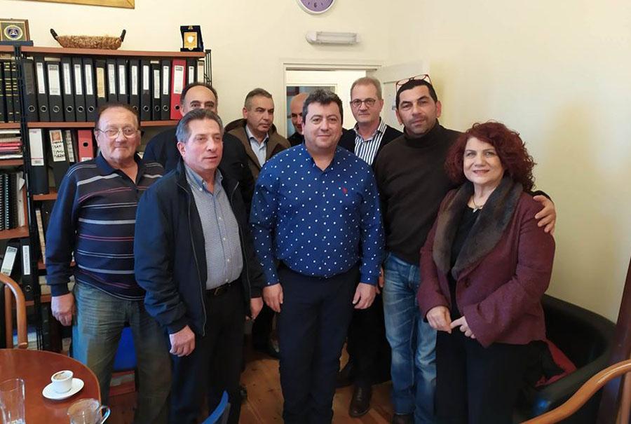 Συνάντηση δημάρχου Σαμοθράκης με την Zante ferries