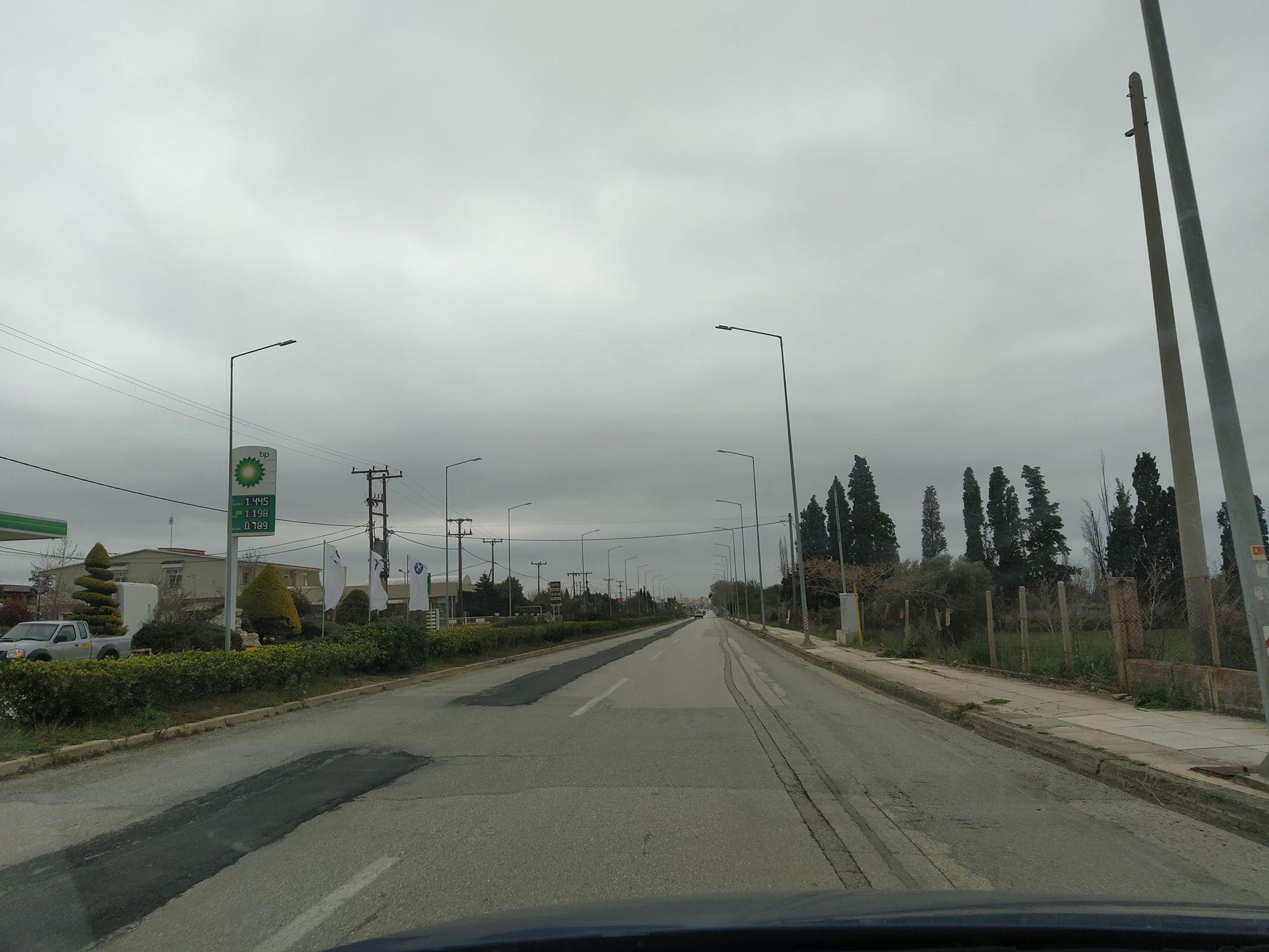 Η Αλεξανδρούπολη συμμορφώθηκε στα μέτρα απαγόρευσης κυκλοφορίας (+ photos)