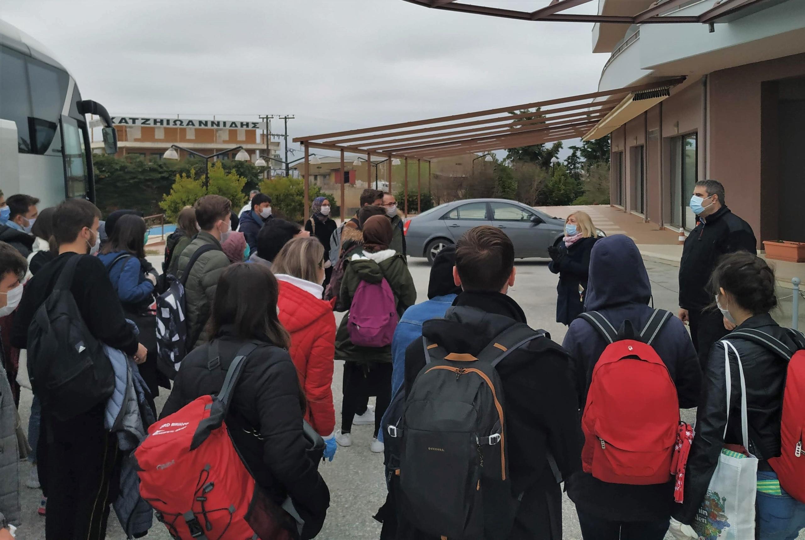 Ακόμη 60 φοιτητές από την Τουρκία υποδέχθηκε η Περιφέρεια ΑΜΘ