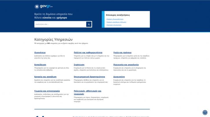 Ξεκίνησε η δοκιμαστική λειτουργία του gov.gr - Oδηγίες χρήσης