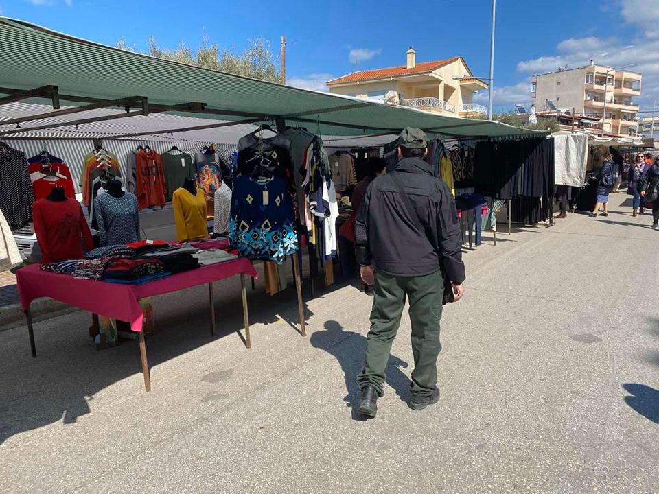"""""""Σαφάρι"""" ελέγχων της Δημοτικής Αστυνομίας στη λαϊκή της Αλεξανδρούπολης"""