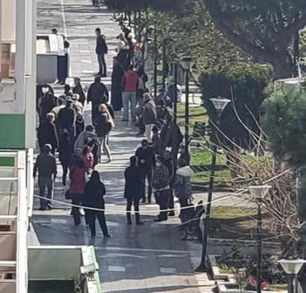Αλεξανδρούπολη: Προσοχή για την αποφυγή του συνωστισμού έξω από τράπεζες