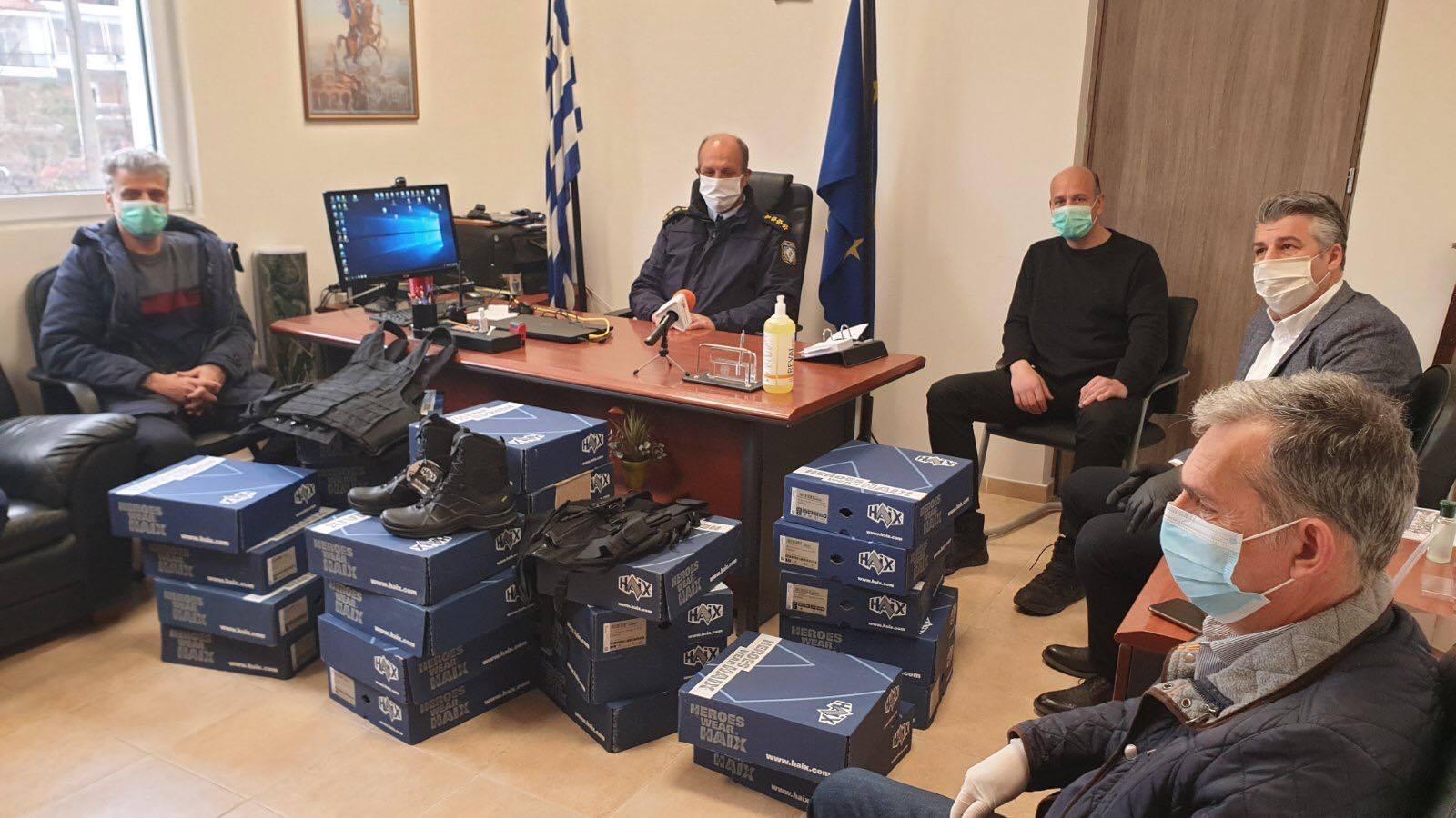 Παράδοση δωρεάς υλικού για την Αστυνομική Διεύθυνση Ορεστιάδας από την Κεντρική Ένωση Επιμελητηρίων Ελλάδος