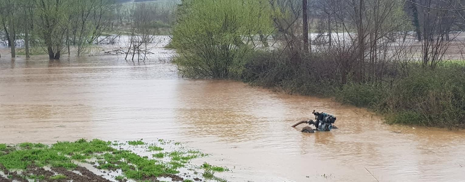 Βελτιωμένη η εικόνα της στάθμης των υδάτων των ποταμών του Έβρου
