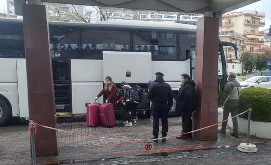 Συνεχίζεται από την Περιφέρεια ΑΜΘ η διαδικασία υποδοχής πολιτών που επιστρέφουν από την Τουρκία