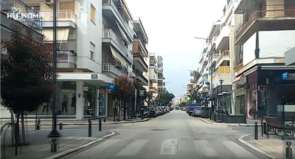 Η Αλεξανδρούπολη στις ημέρες απαγόρευσης κυκλοφορίας (video)