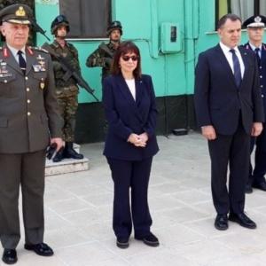 Την ελπίδα να βρεθεί σύντομα και πάλι στον Έβρο, εκφράζει η Πρόεδρος της Δημοκρατίας