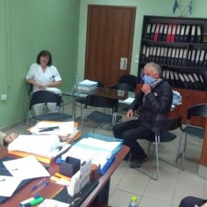 Ν. Γκαρά επίσκεψη σε δομές υγείας Έβρος2