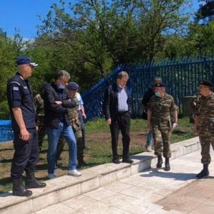 Στον Έβρο βρέθηκε σήμερα ο Υπουργός Προστασίας του Πολίτη Μιχάλης Χρυσοχοΐδης