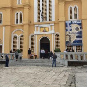 Αλεξανδρούπολη: Με προσέλευση και τήρηση μέτρων το άνοιγμα των Εκκλησιών (photos)