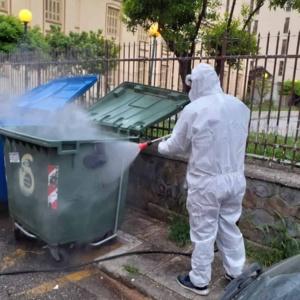 Επιτέλους: Πλένονται και απολυμαίνονται οι κάδοι του Δήμου Αλεξανδρούπολης