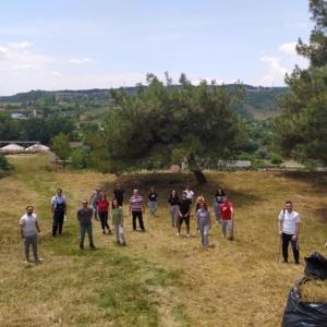 Πολίτες του Διδυμοτείχου σε δράσηεθελοντικού καθαρισμού σε ιστορικό χώρο
