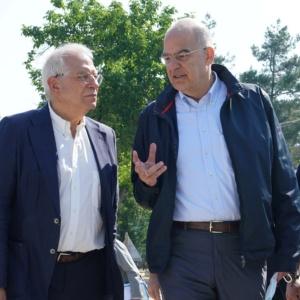 Μπορέλ: «Στηρίζουμε την Ελλάδα, προστατεύουμε τα σύνορά της, που είναι και σύνορα της ΕΕ»