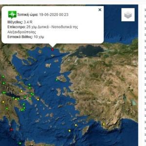 """Σεισμός """"αντίγραφο"""" αυτού της περασμένης Παρασκευής αναστάτωσε την Αλεξανδρούπολη"""