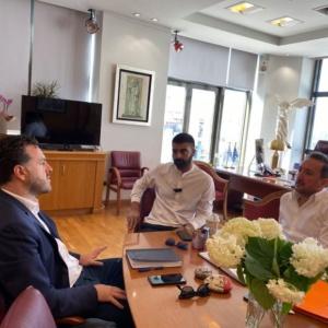 Συνάντηση εργασίας του Δημάρχου Αλεξανδρούπολης και του Αντιπεριφερειάρχη Τουρισμού ΑΜΘ
