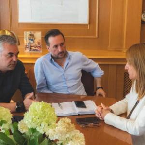 Στον δήμαρχο ο Εμπορικός Σύλλογος Αλεξανδρούπολης, τα είπαν για την «Εβδομάδα Εμπορίου»