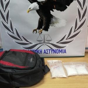 Μετέφερε από την Τουρκία στην Ελλάδα 342 γραμ. κοκαΐνης και 998 ναρκωτικά δισκία