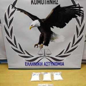Μετέφερε από την Τουρκία 554 γραμμάρια κοκαΐνης και 954 ναρκωτικά δισκία