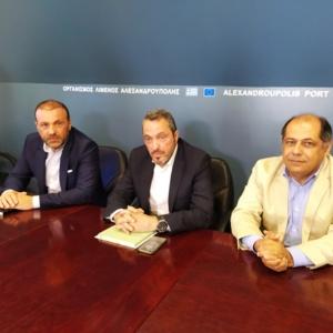 Πρόεδρος ΤΑΙΠΕΔ: «Στα επόμενα 24ωρα ο διαγωνισμός για το λιμάνι Αλεξανδρούπολης» (video)