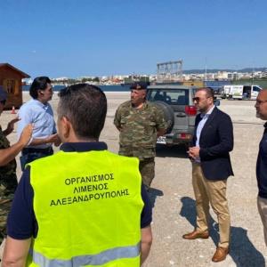 """Λιμάνι Αλεξανδρούπολης: Γιατί θα είναι """"ιστορική η 23η Ιουλίου 2020"""""""
