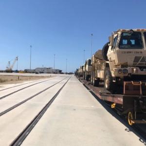 Στις ράγες το στρατιωτικό υλικό των ΗΠΑ, αναχωρεί για Ρουμανία