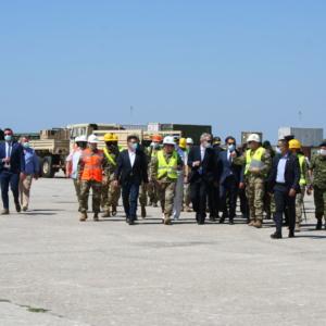 Ολα όσα έγιναν σήμερα στο λιμάνι της Αλεξανδρούπολης παρουσία Πάιατ, Παναγιωτόπουλου