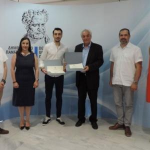 Τιμήθηκε από το Δημοκρίτειο Πανεπιστήμιο Θράκης ο φοιτητής Κωνσταντίνος Εμμανουηλίδης