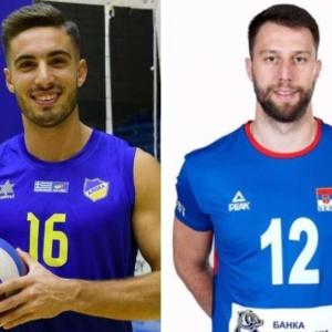 Στον Ολυμπιακό οι Σταύρος Κασαμπαλής και Νίκολα Μιγιαήλοβιτς