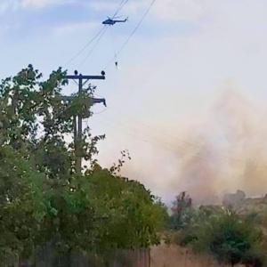 Πυρκαγιά στην περιοχή της Αισύμης   (+ φωτος)