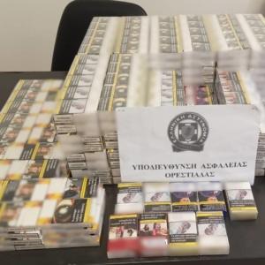 Ορεστιάδα: Κατασχέθηκαν 499 πακέτα λαθραίων τσιγάρων και μικροποσότητα ακατέργαστης κάνναβης