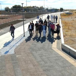 Βόλτα στα έργα ανάπλασης της παραλιακής με 'ξεναγό' τον Δήμαρχο Αλεξανδρούπολης