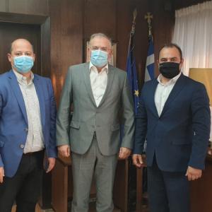 Δέσμευση Υφυπουργού Παιδείας προς Δήμαρχο για επίσκεψή του στο Διδυμότειχο